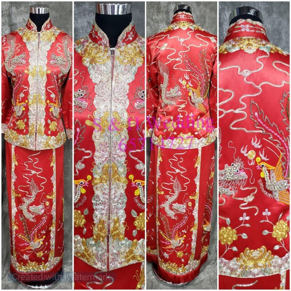 Chinese Gown (RENTAL) CW008