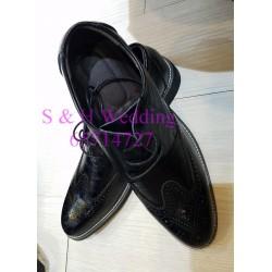 男士黑色皮鞋 (購買價) MA009