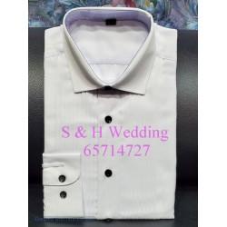 新郎男士禮服恤衫標準領 (購買價) MA018