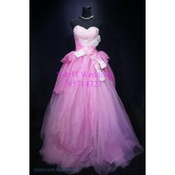 紫色晚裝裙 WE003 (全新購買價)