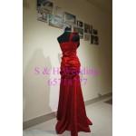 紅色魚尾晚裝裙 WE006  (購買價,曾出租)