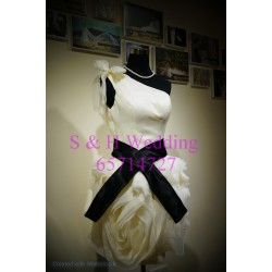 香檳色短晚裝裙 WE007  (購買價,曾出租一次)